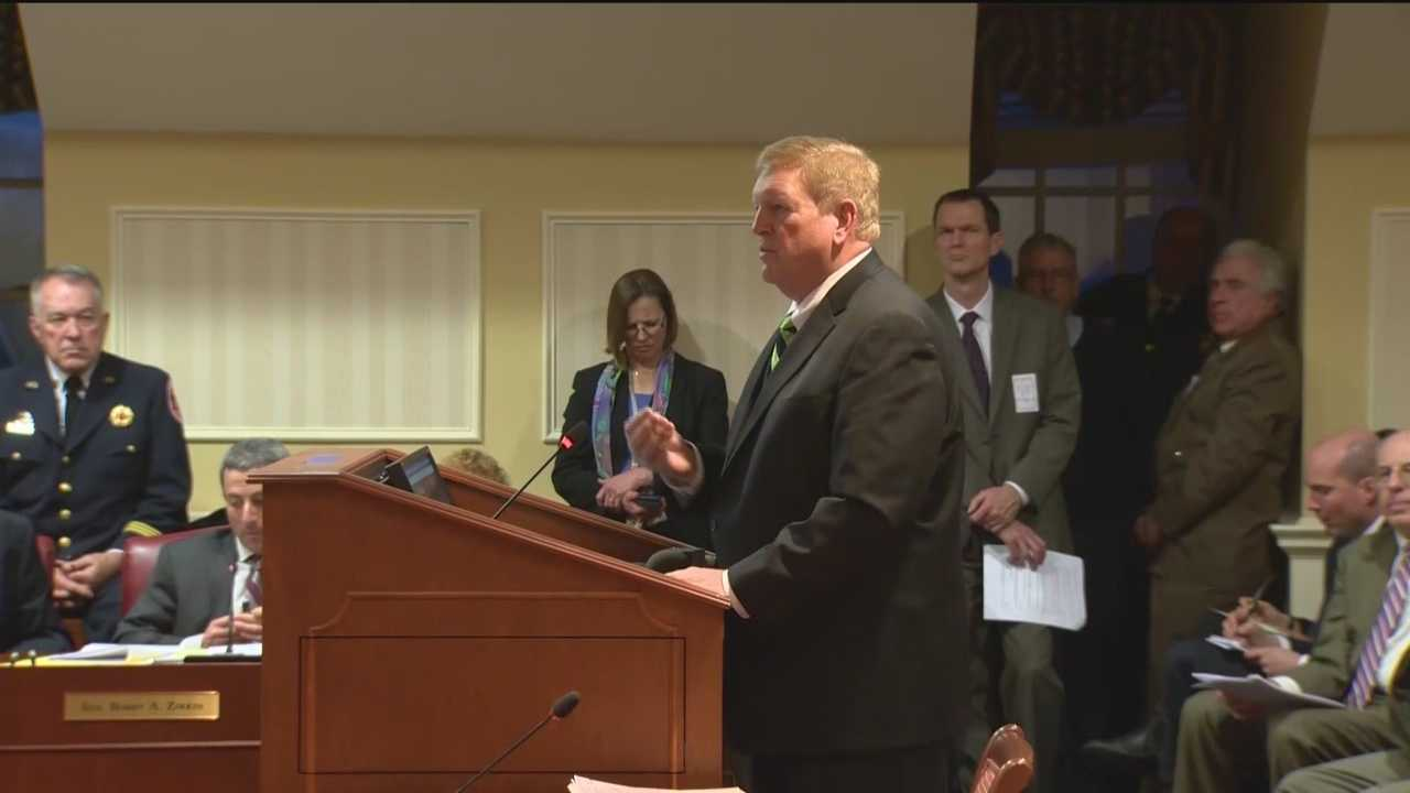 Acting Transportation Secretary Pete Rahn appeared before a Senate committee for his nomination hearing Monday, and one of the more controversial topics discussed was the governor's gas tax repeal bill.  Karen Campbell has details.