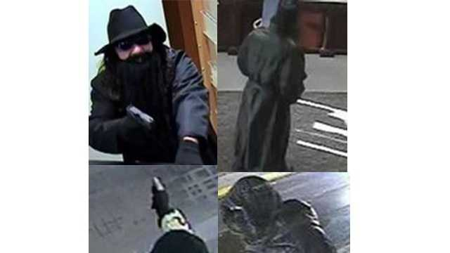 "The FBI is searching for these men, the ""Black Hat Bandits,"" in connection with several armed robberies in Virginia and Maryland."