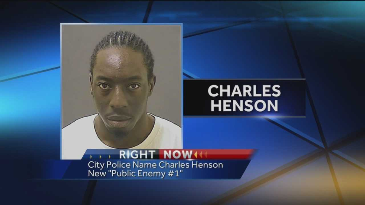 City police are asking for the public's help to find the newly-named public enemy No. 1: 22-year-old Charles Henson.