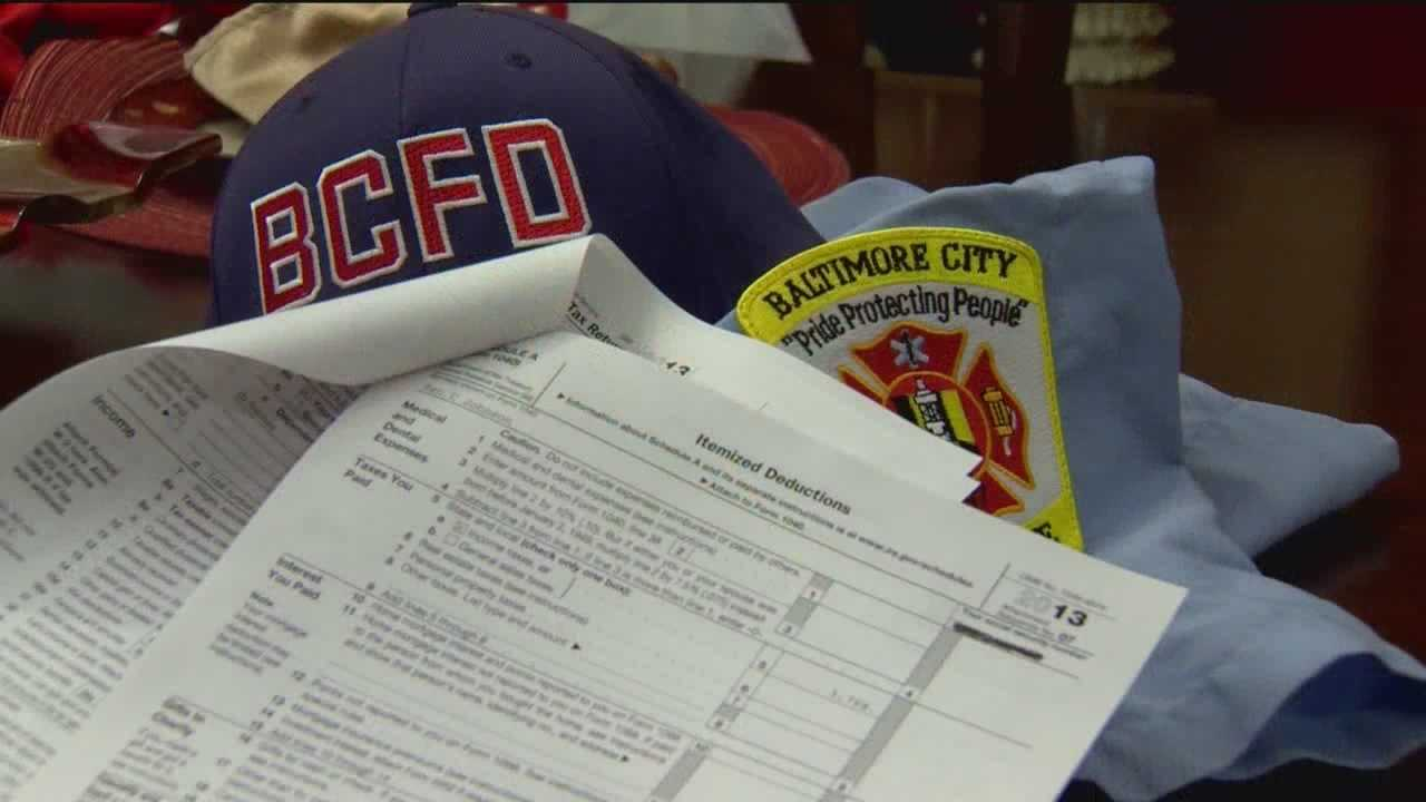 Some Baltimore City firefighters claimed their tax preparer got them big refunds but also caused big trouble because of the things he put on their returns. Now they owe the state thousands of dollars because of it.