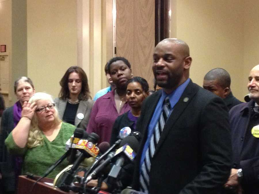 Feb. 26: Coalition led by ACLU holds a news conference in support of bills designed to hold police accountable.