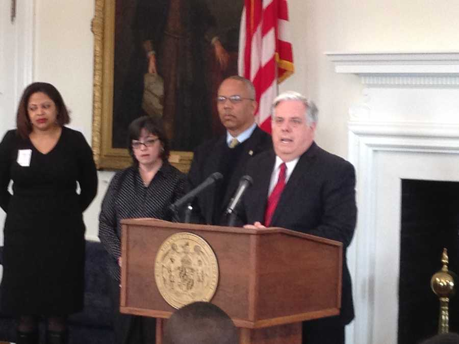 Feb. 26: Gov. Larry Hogan discusses charter school bill.