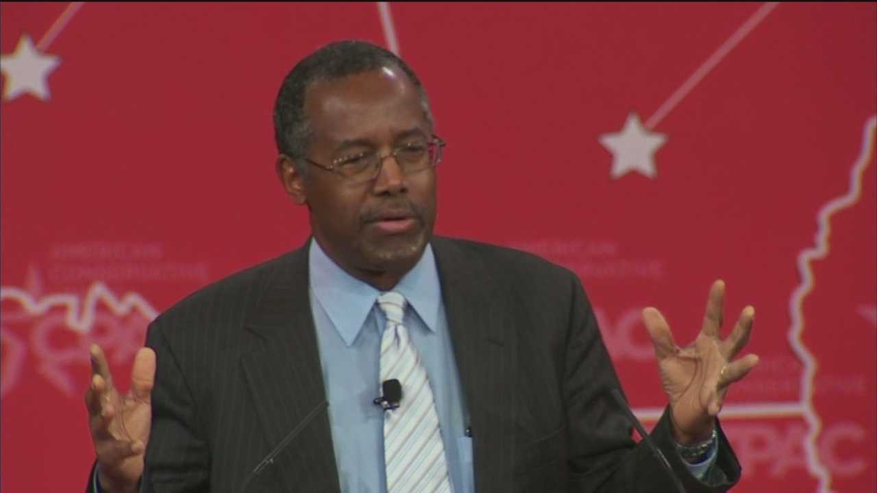 Baltimore's Dr. Ben Carson kicks off the Conservative Political Action Conference in Oxon Hill.