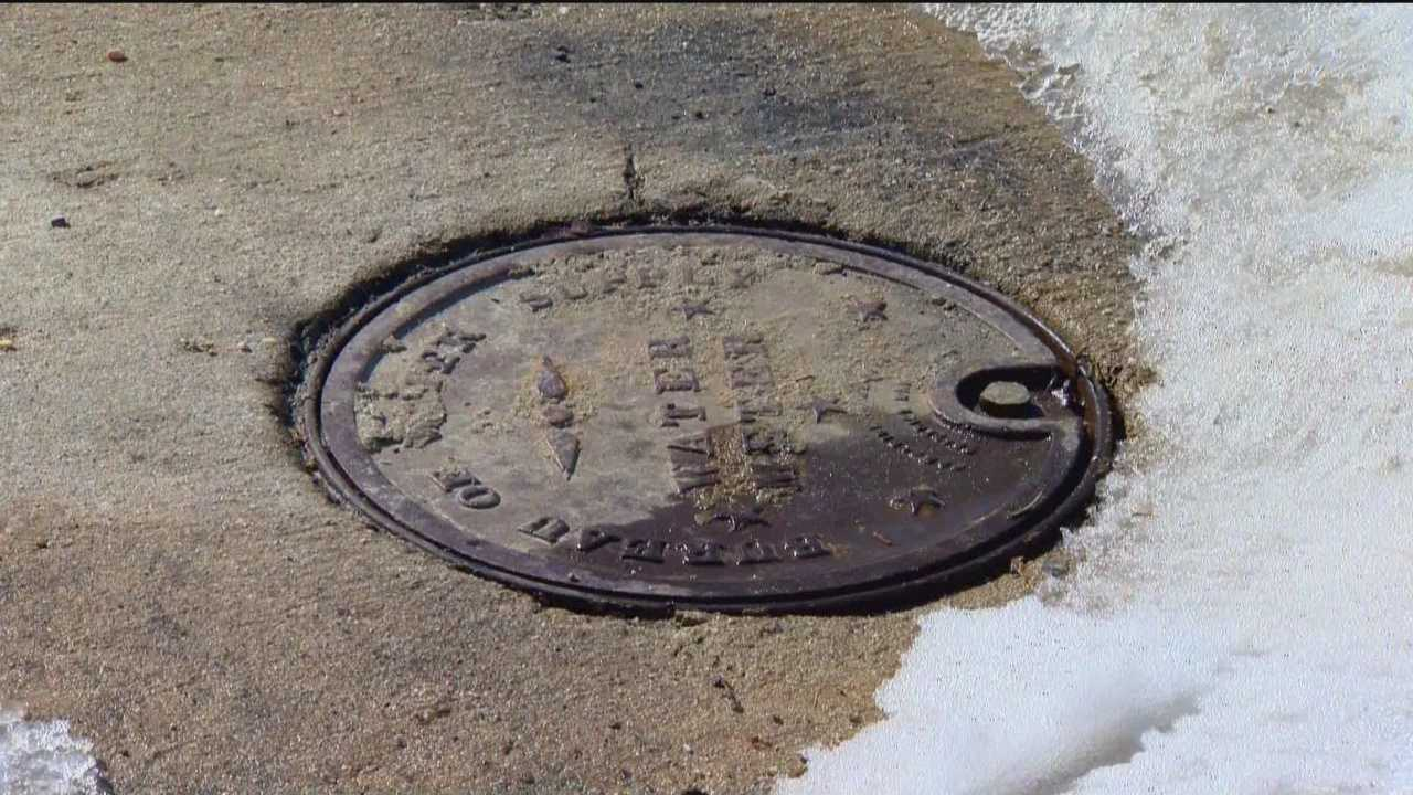 DPW officials said because of the cold weather since Valentine's Day they have fielded almost 6,000 calls for service as people began losing their water.