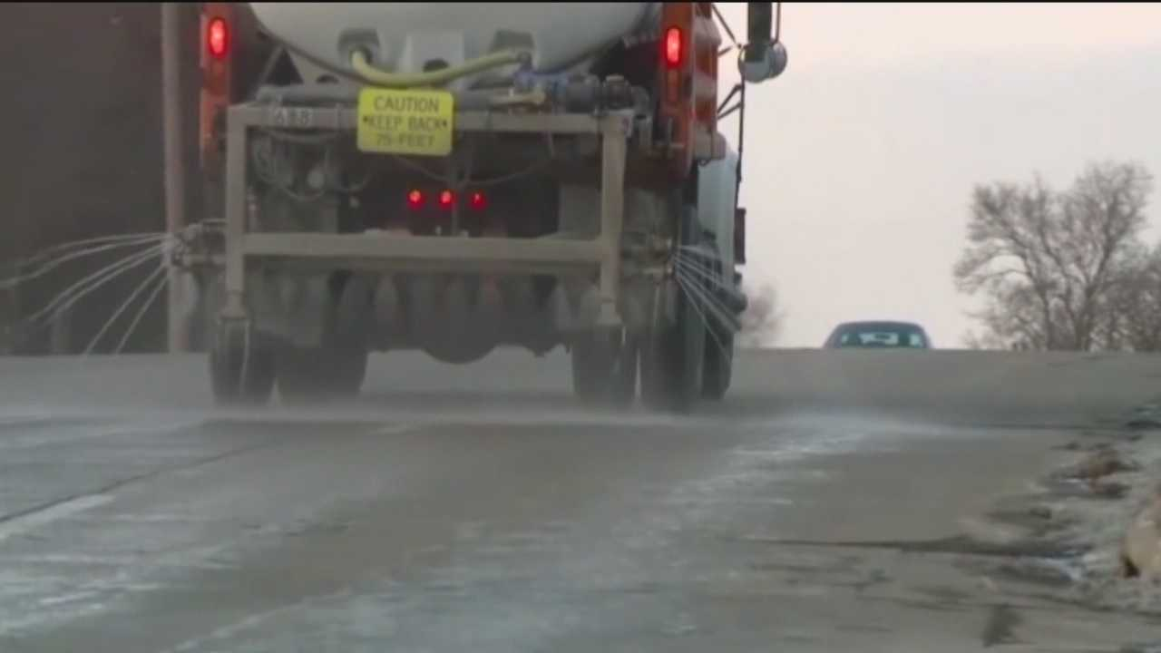 Auto experts warn car owners that salt brine used to treat roadways before snowstorms can cause serious damage.