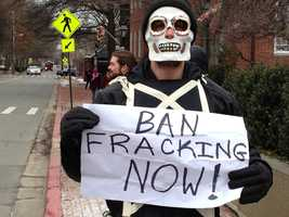March 3: Anti-fracking demonstration