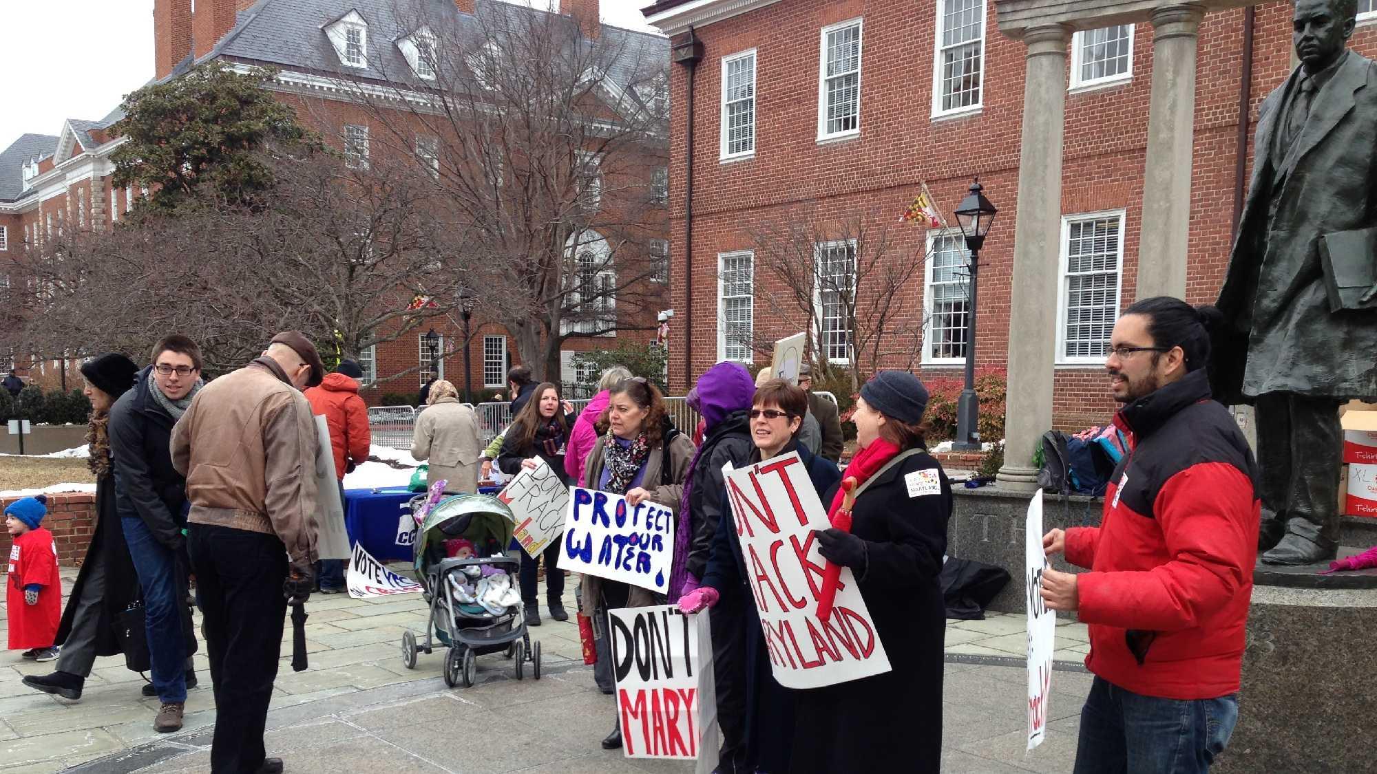 March 3: Anti-fracking demonstration