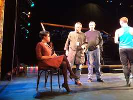 """Baltimore Mayor Stephanie Rawlings-Blake made her Broadway debut Wednesday night during a performance of """"Chicago"""" at the Hippodrome."""