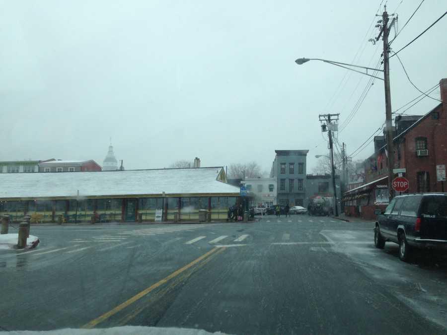 Annapolis snow