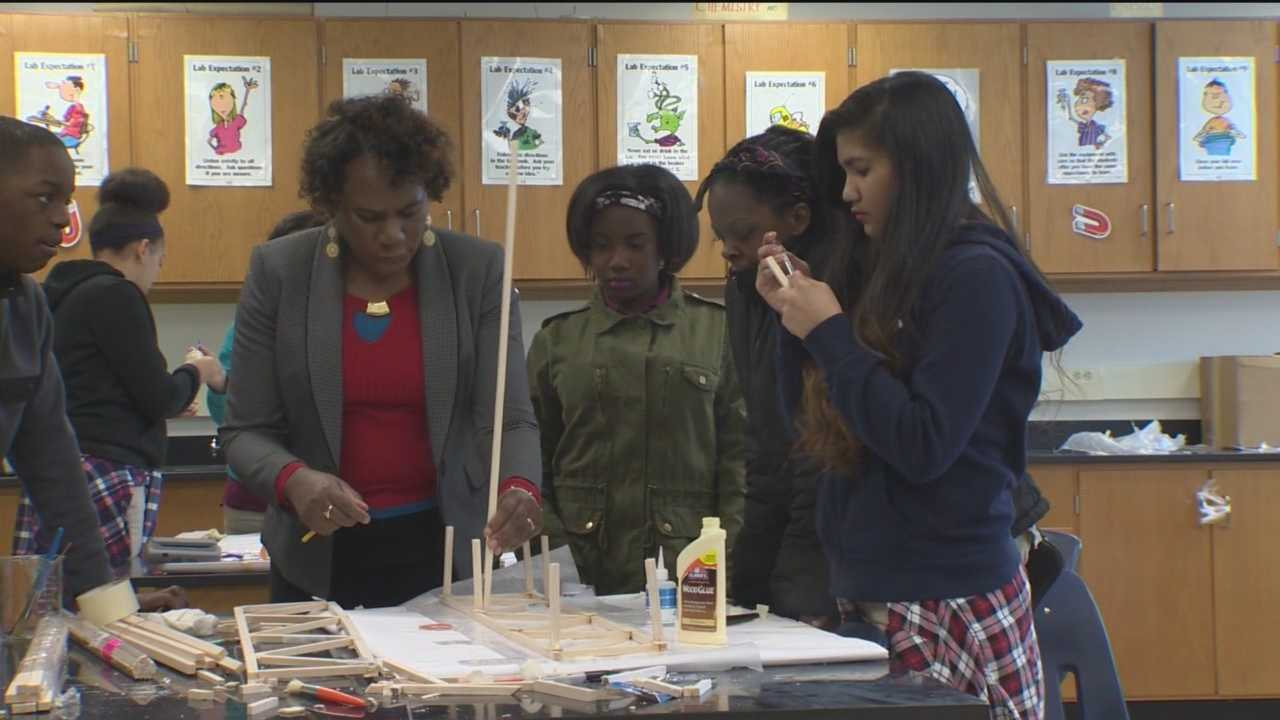 A group of Fallstaff Elementary-Middle School eighth-grade students will experience the Maryland Science Olympiad for the first time.