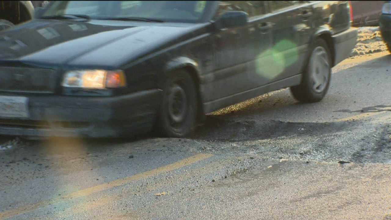 The sound of your car dunking into a pothole isn't particularly what you want to hear.