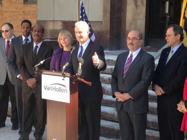 March 9: Montgomery County officials endorse Van Hollen