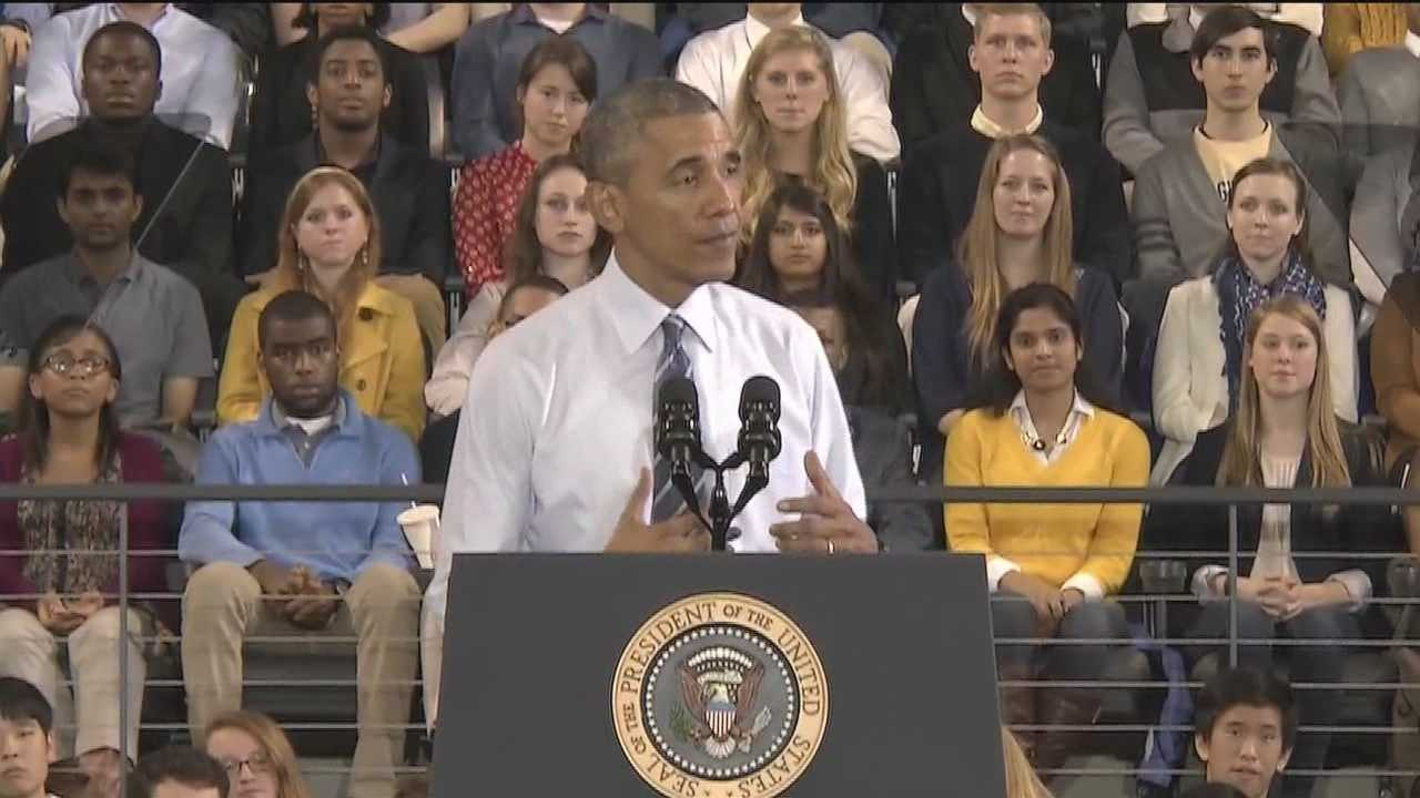 President Barack Obama picked Georgia Tech University to unveil his new Student Aid Bill of Rights. Local students share their thoughts on the new plan.