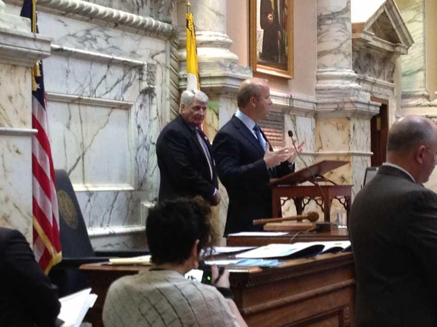 Rep. John Delaney addresses the House.