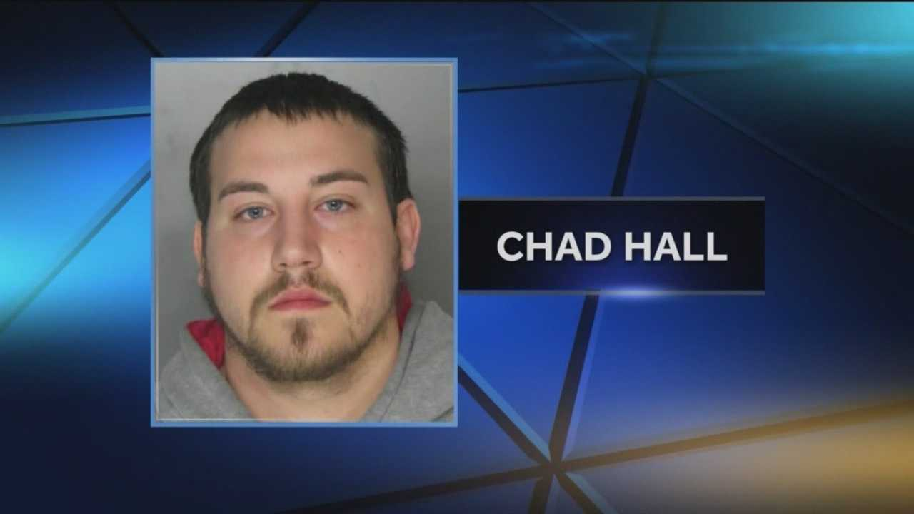 Police said they began investigating Chad Aaron Hall, 25, of Perry Hall, in late December after they learned about allegations that he may have had inappropriate contact with a student at Dundalk's General John Stricker Middle School, where Hall is a teacher.