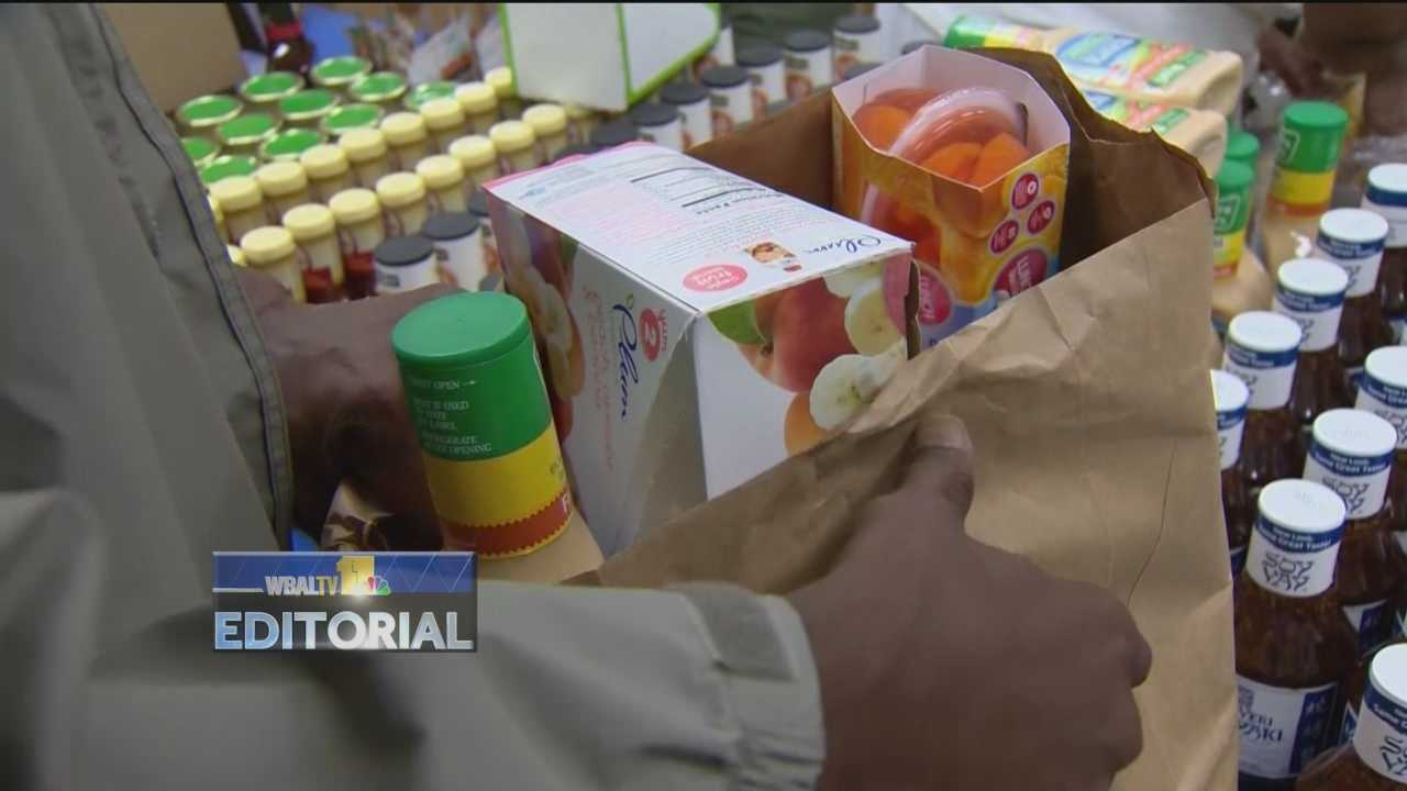 WBAL-TV 11 joined forces with the Maryland Food Bank for our annual Harvest for the Hungry Spring Forward Food Drive.