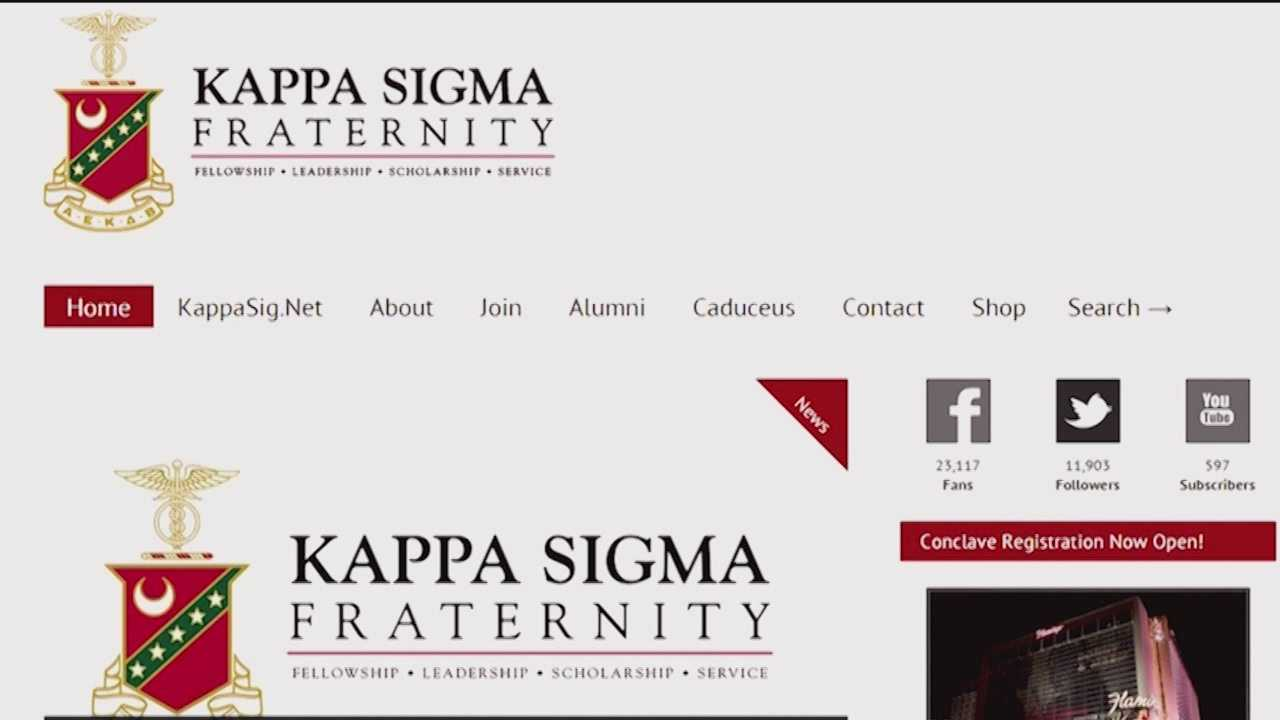 According to the Kappa Sigma Fraternity one of its members, a student at the University of Maryland College Park, wrote an email laced with racial and sexist language.