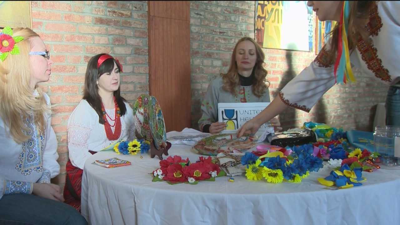 Local activists are trying to raise awareness about the conflict in Ukraine through a variety of fundraising activities.