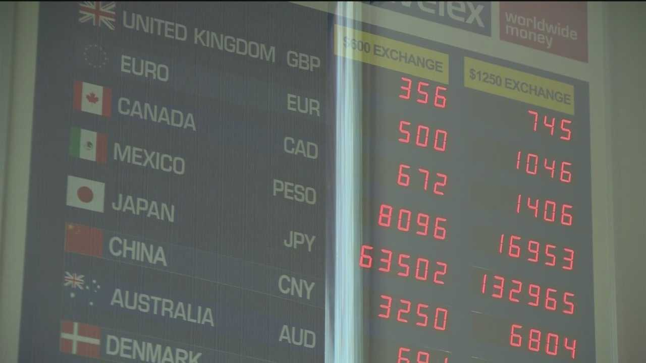 The euro is the lowest it has been compared to the dollar in more than a decade. Because of the devaluation, travel agents said they are starting to see interest in traveling overseas.