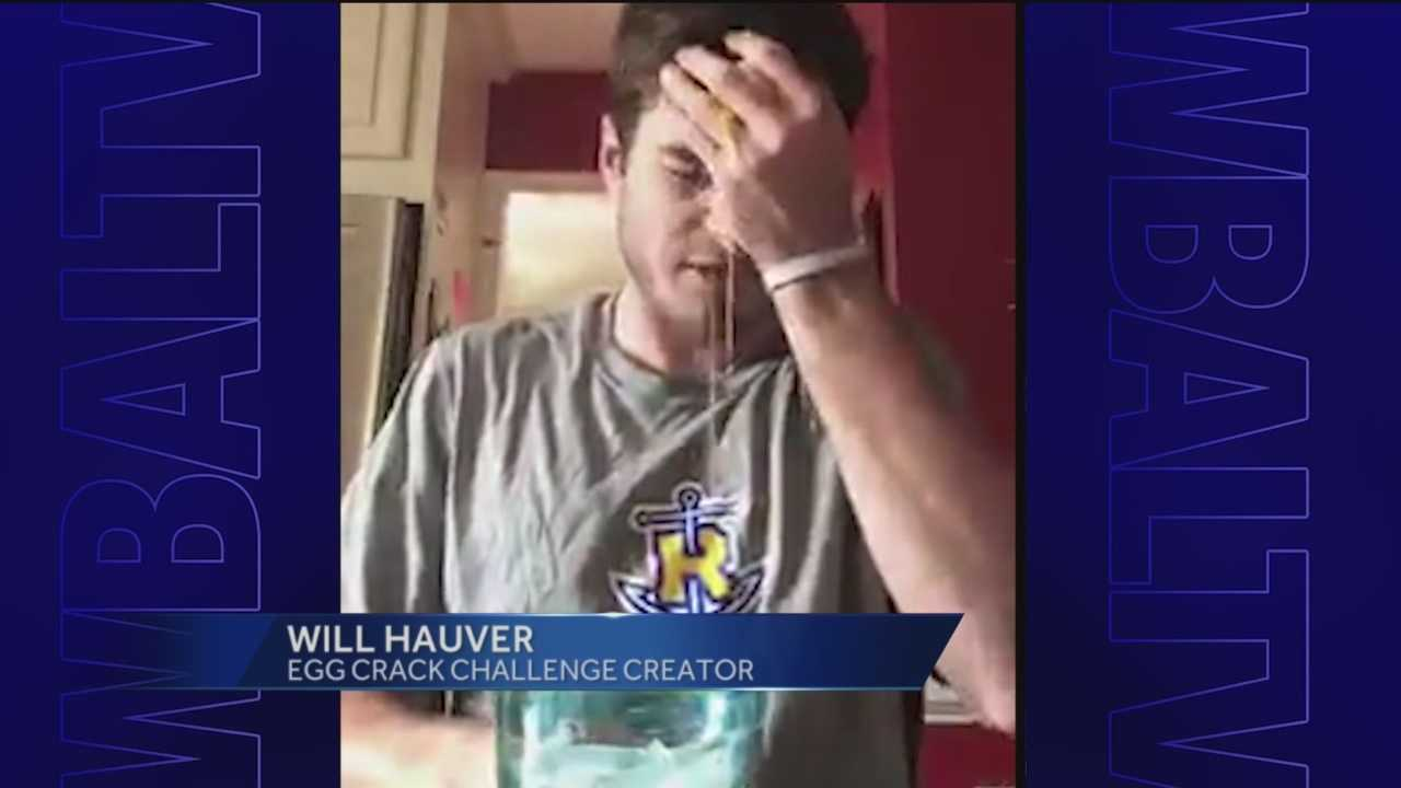 Will Hauver, 22, didn't let Type 1 diabetes stop him from living life to the fullest. Instead of taking the ALS Ice Bucket Challenge, Hauver cracked an egg on his head.