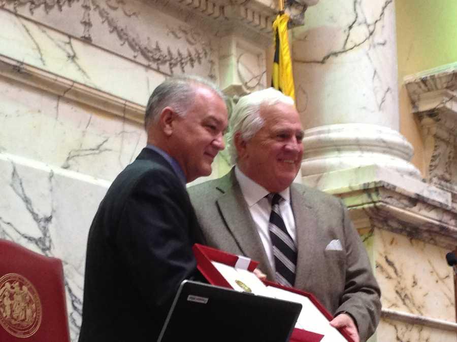 March 19: David Brinkley honored in Senate