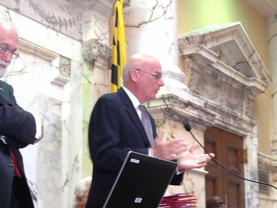 March 19: Sen. Edward Kasemeyer honored in Senate.