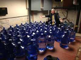 March 19: The water bottle shortage is over.