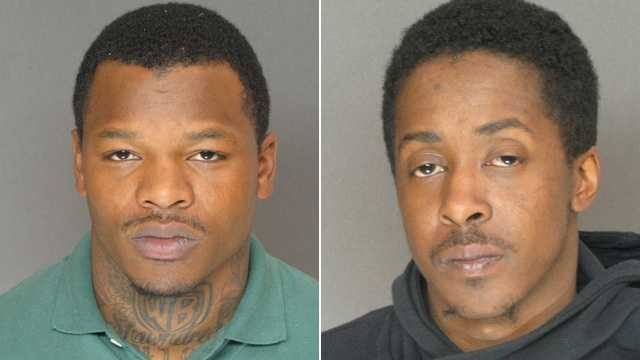 Matthew Warren Brown (left), Anthony Leon Eley Jr. (right)