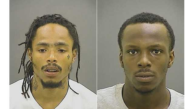 Dontay Dorsey (left), DeAngelo Anthony (right)