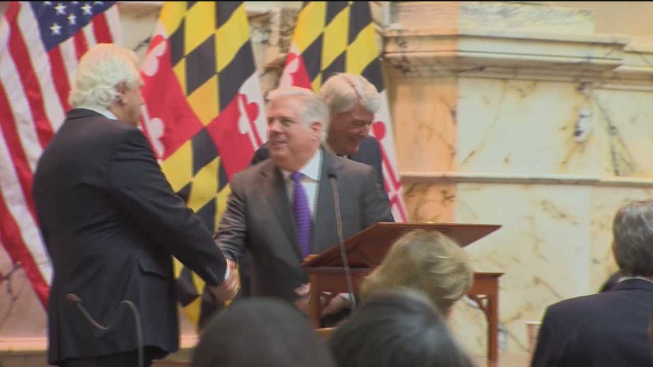No victory lap yet for Republican Gov. Larry Hogan. His first legislative agenda has been stuck in committee, but perhaps not for long.