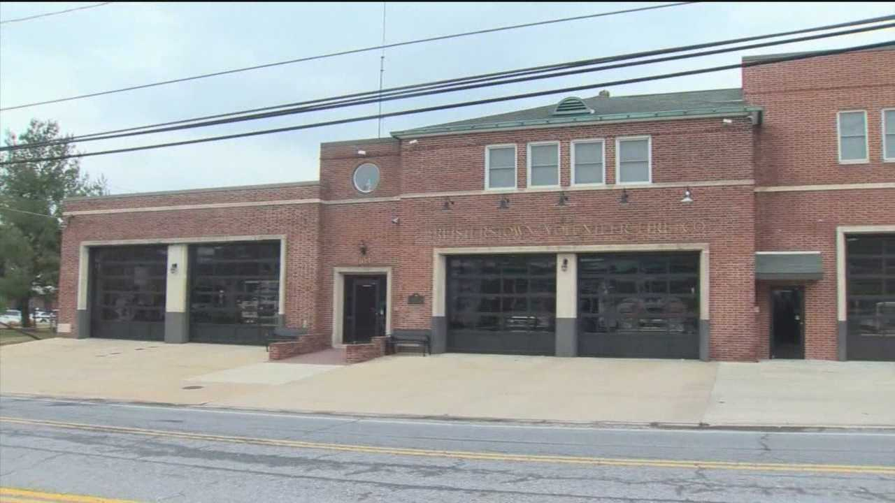 Two Baltimore County Fire Department employees were suspended without pay pending the outcome of an investigation into allegations of sexual misconduct, officials said.