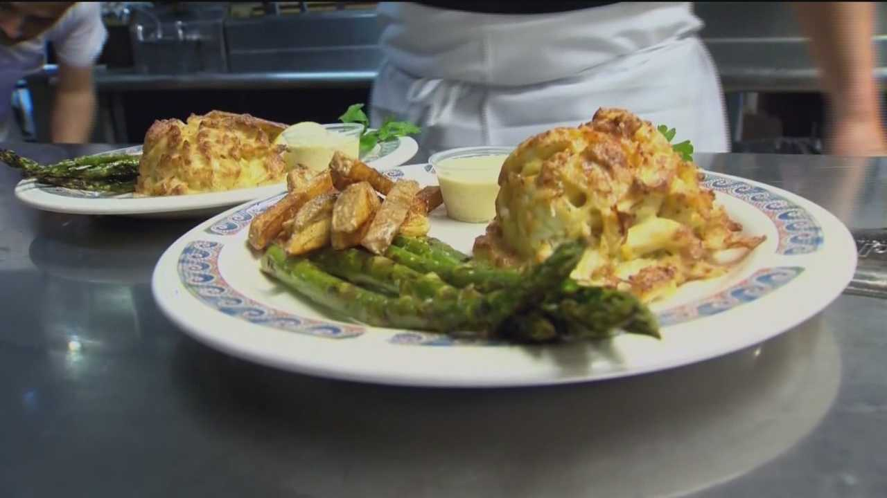 What's in your crabcake?