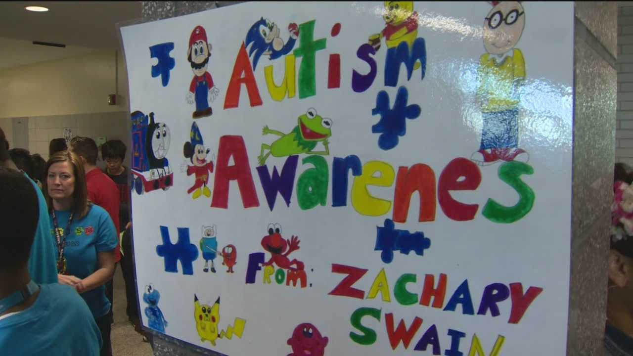 With one in 68 Americans diagnosed with autism, one school in Parkville is using the campaign to teach students a lesson outside of a book.