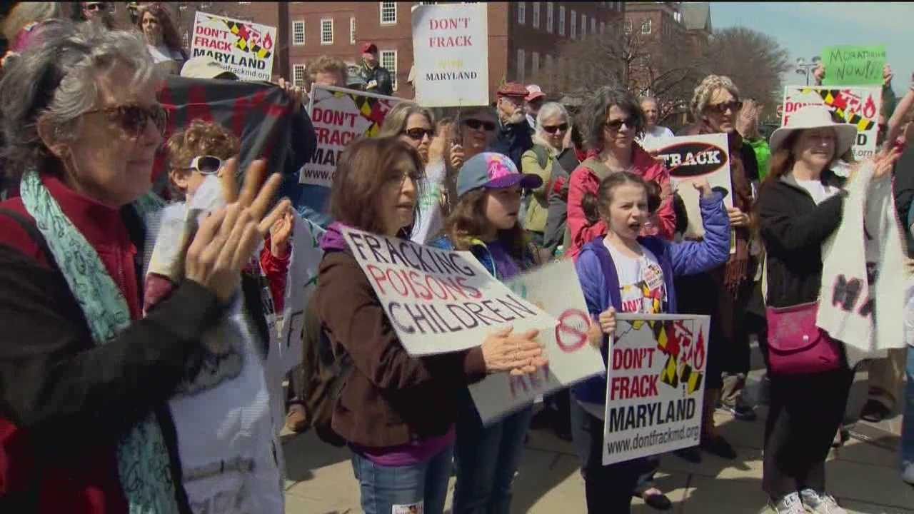 A moratorium on fracking in Maryland advances in the Senate that could put off the procedure for at least two years.