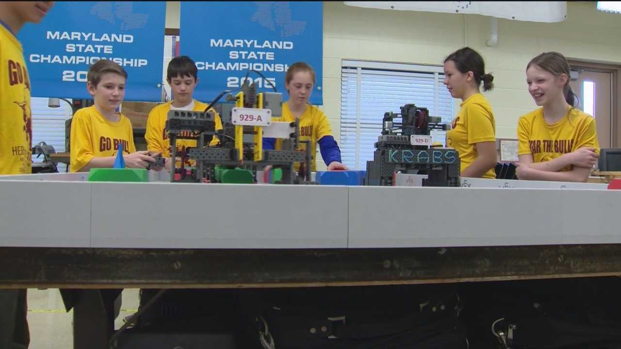 As part of WBAL-TV 11 News' S.T.E.M. station campaign, we highlight a group of ambitious Hereford Middle School students.