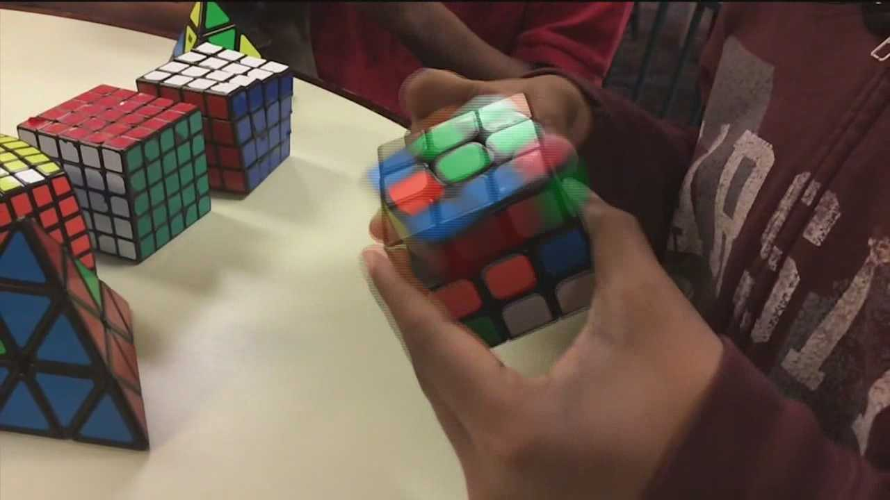The record for solving the Rubik's Cube in the Rubik's Cube Club at City Neighbors Hamilton Middle School is 17 seconds flat.