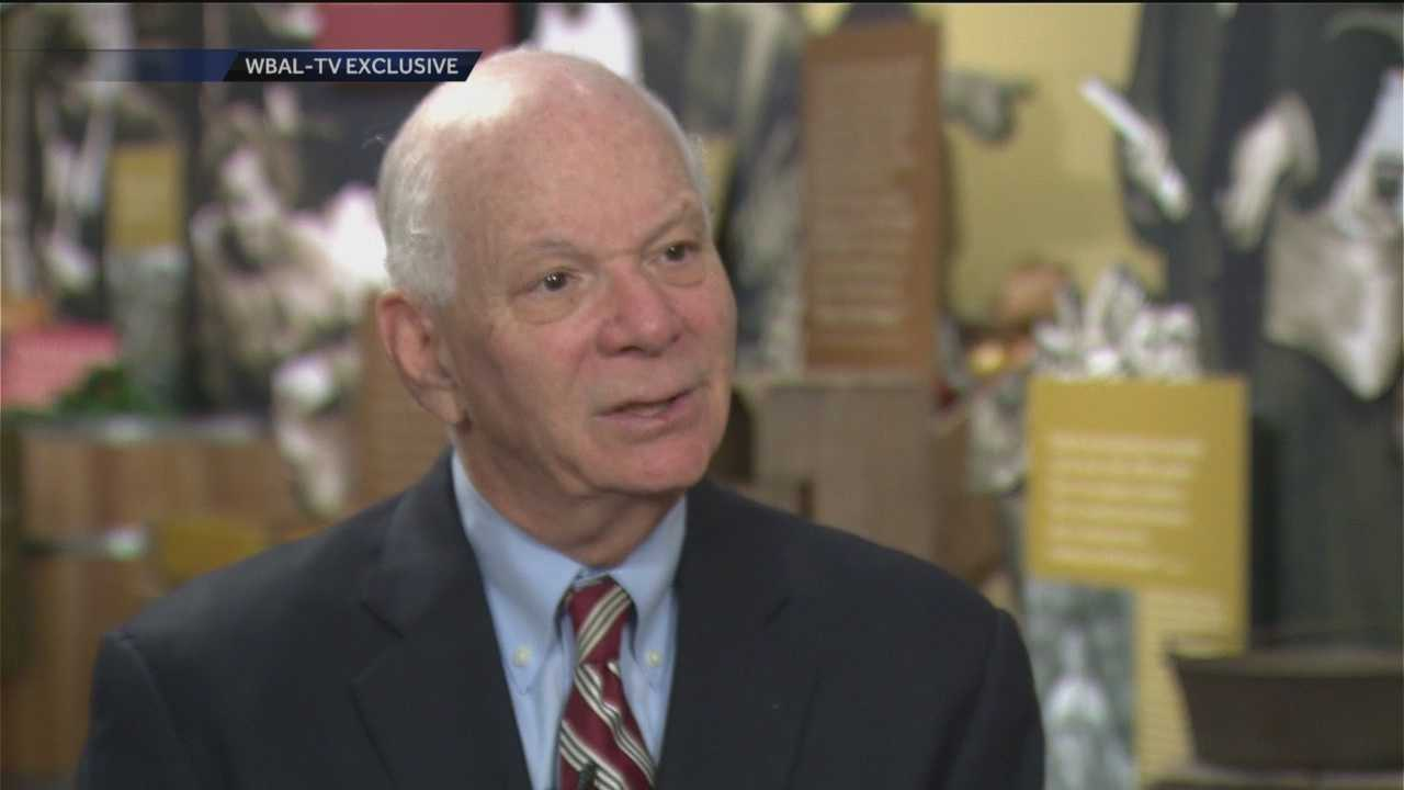 WBAL-TV 11 News Today anchor Jason Newton sits down with Sen. Ben Cardin in his first television interview in Baltimore since being elevated to the ranking Democrat on the Senate Foreign Relations Committee.