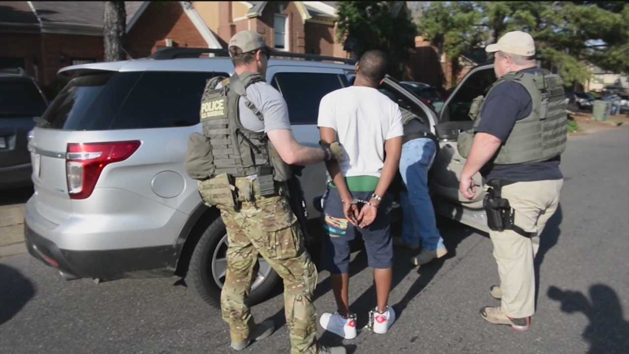 In Maryland, a U.S. Marshals Service task force worked with state and local police to apprehend 181 fugitives in Baltimore, Hagerstown and Salisbury.