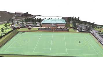 The governing body of U.S. Men's and Women's Lacrosse broke ground Thursday for its new national headquarters to be located in the Sparks area of Baltimore County.