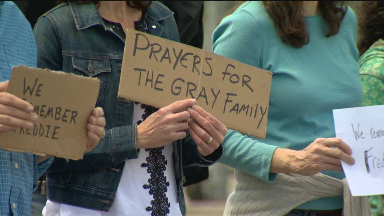 The family of Freddie Gray is asking for prayers and a pause in protests as they lay him to rest.