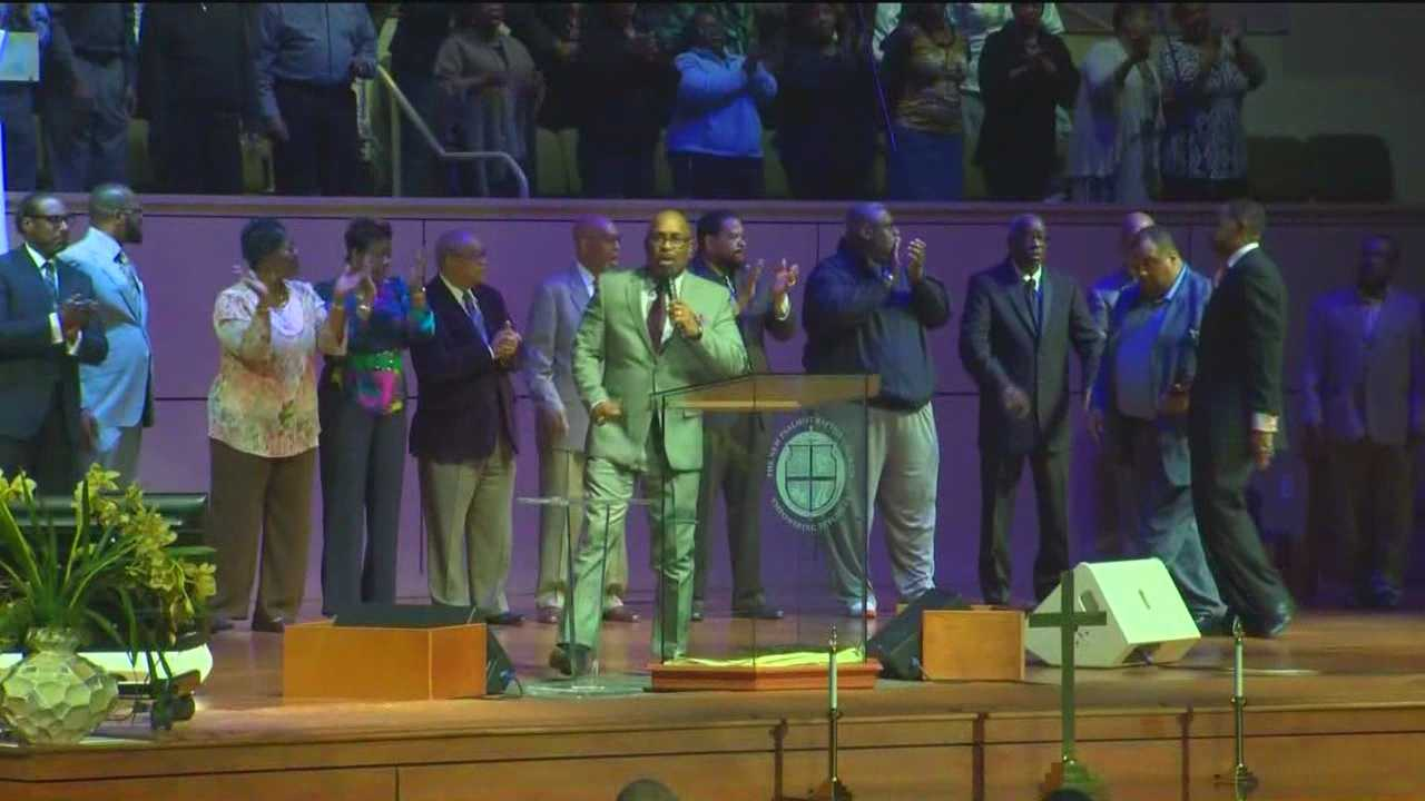 A number of places of worship have held special services this week to pray for peace for the young people in Baltimore.