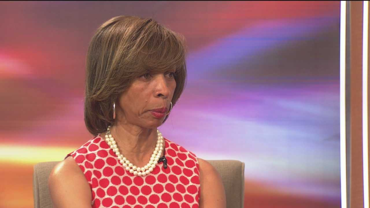 Baltimore State Sen. Catherine Pugh talks about the current climate in Baltimore after the death of Freddie Gray.