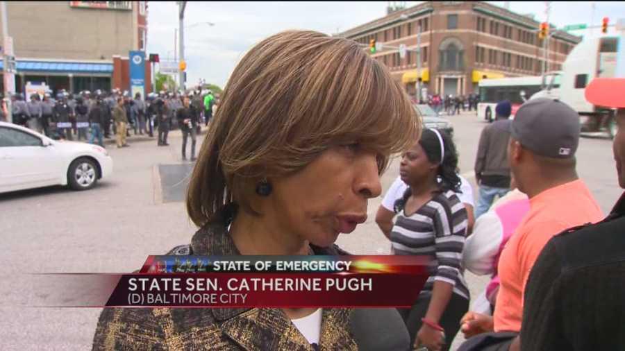 State Sen. Catherine Pugh