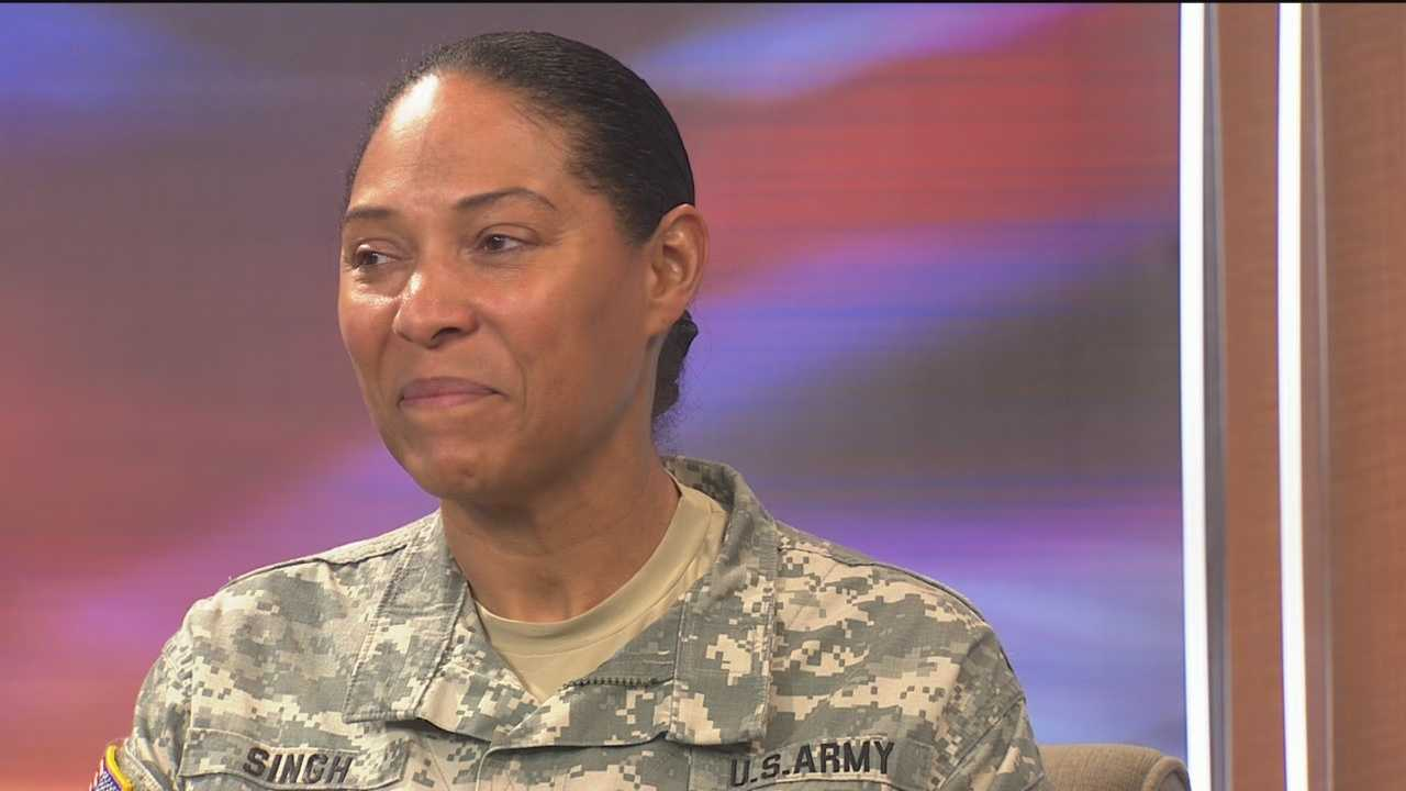 Maj. Gen. Linda Singh urged for peaceful protests during an interview with 11 News' Deborah Wiener. She also talked about having come from poverty and wanting to help those in the community who want better for themselves.