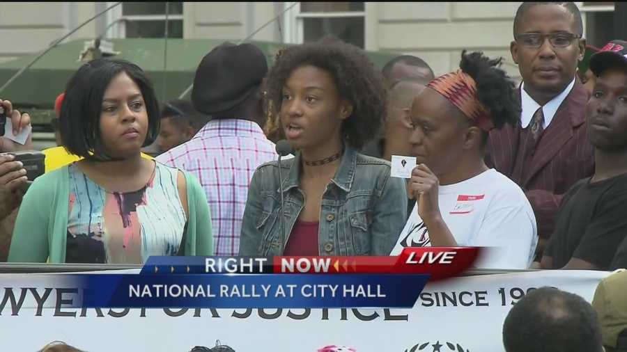 "This young Baltimore resident says: ""We are not thugs. We just want to be heard. … This is something I'm going to remember for the rest of my life, seeing people from all different neighborhoods in Baltimore, people from all over the country."""