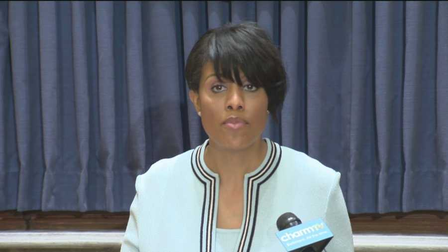 Baltimore Mayor Stephanie Rawlings-Blake is calling on federal investigators to look into whether the city's beleaguered Police Department uses a pattern of excessive force or discriminatory policing.