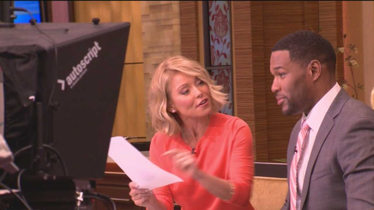 WBAL-TV 11 News' Mindy Basara traveled to New York for a behind-the-scenes look at the special chemistry behind 'Live with Kelly and Michael.'