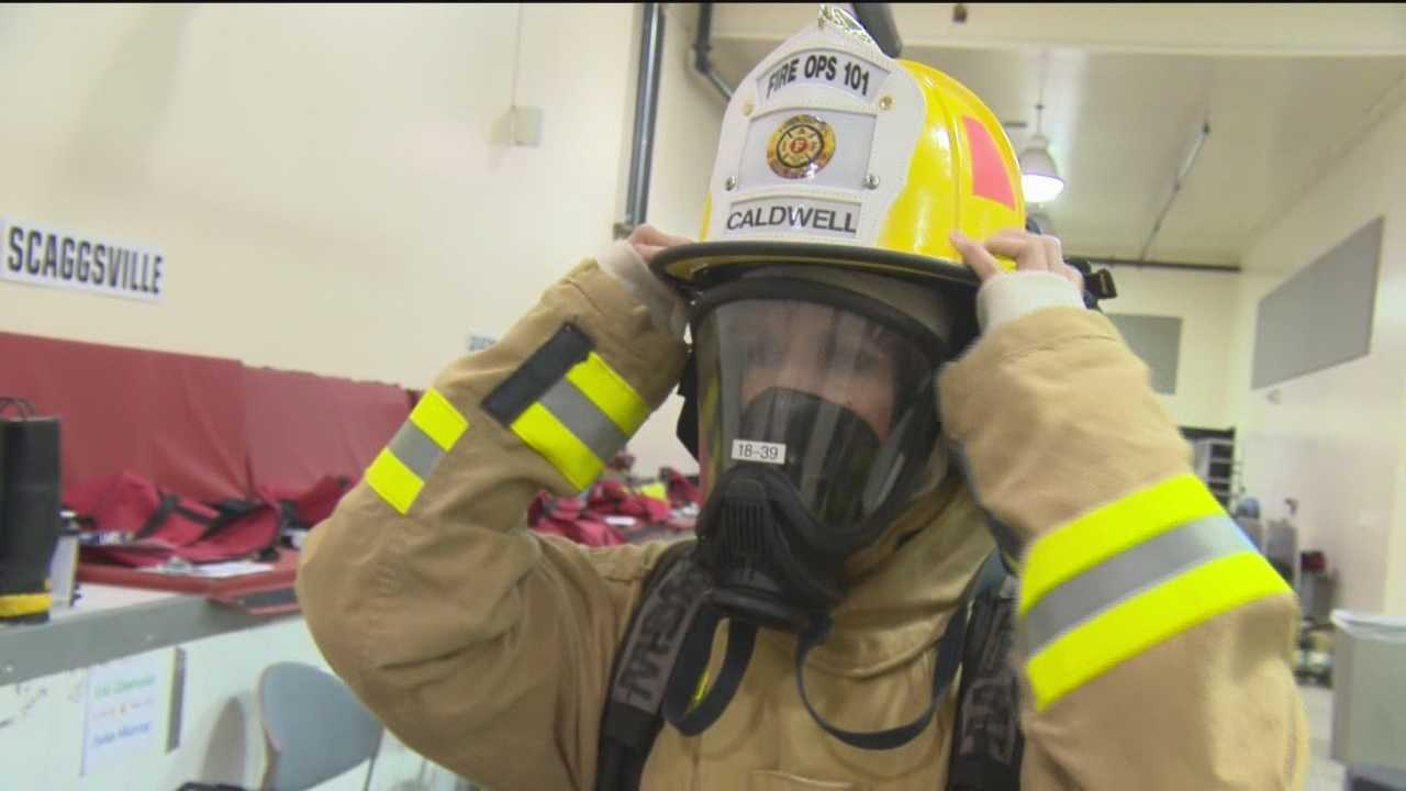 WBAL-TV 11 News reporter Sarah Caldwell traveled to Howard County and shared a look inside Fire Ops 101.
