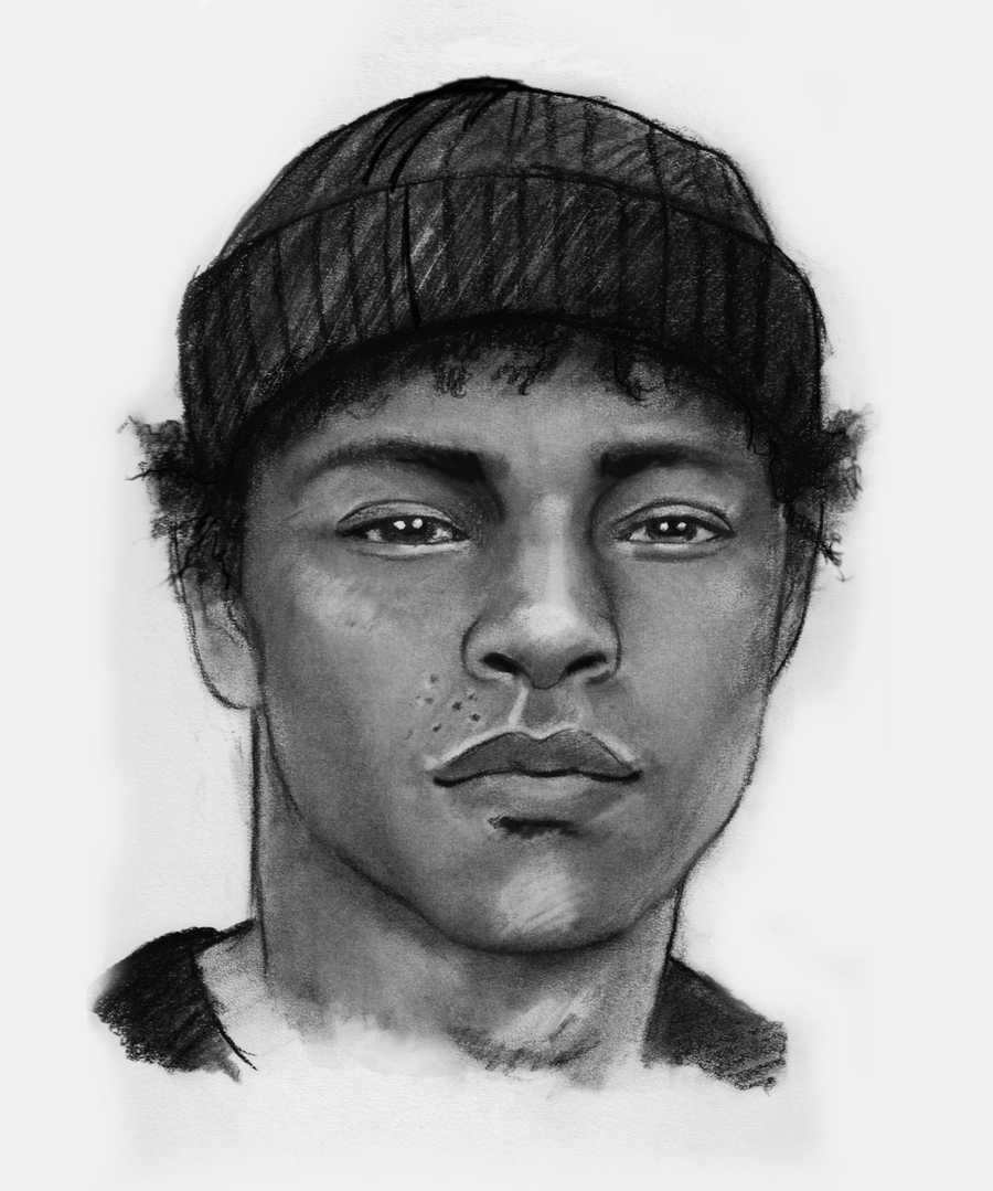 Detectives said suspect No. 1 is a light-skinned black man in his late teens to early 20s. His hair is described as light in color having orange/yellow areas (possibly faded by sun).