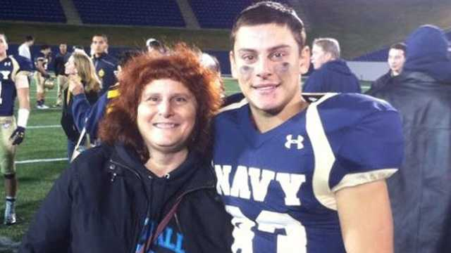 Justin Zemser with his mother, Susan Zemser